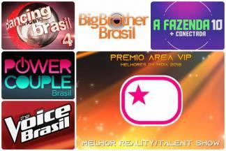 Prêmio Área VIP 2018 - Melhor Reality ou Talent Show