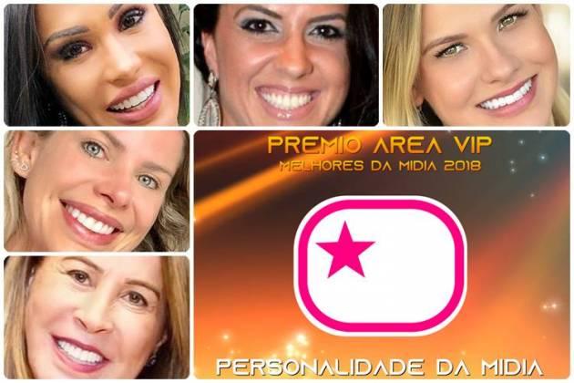 Prêmio Área VIP 2018 - Personalidade da Mídia