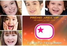 Prêmio Área VIP 2018 - Talento Teen - Mirim