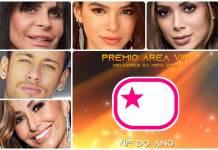 Prêmio Área VIP 2018 - VIP do Ano