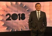 Roberto Cabrini na retrospectiva do SBT (Divulgação/SBT)