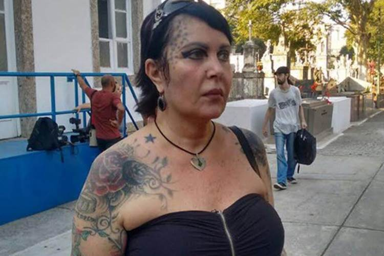 Atriz e chacrete Sandra Mattera (Foto: Divulgação Nicolas Satriano/G1)