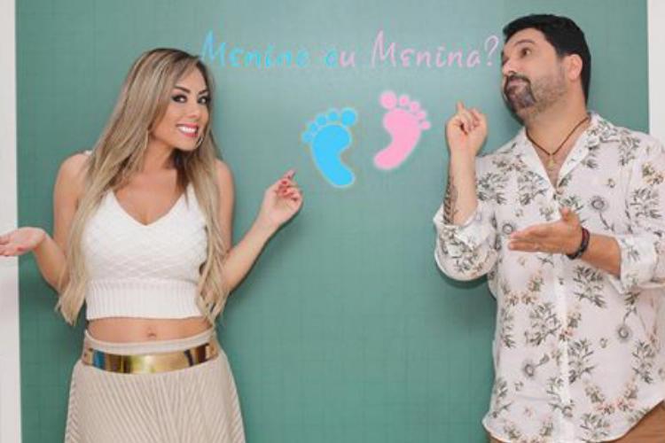 Sertanejo revela sexo do quarto filho
