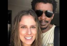 Seu Jorge e Karina/Instagram