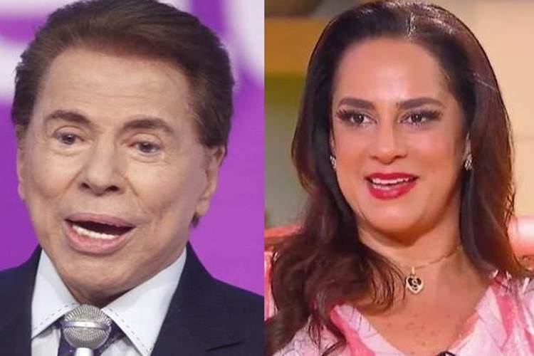 Silvia Abravanel publica foto antiga com Silvio Santos e causa nostalgia