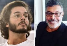 Tulio Gadêlha e Alexandre Frota - Montagem/ÁreaVip