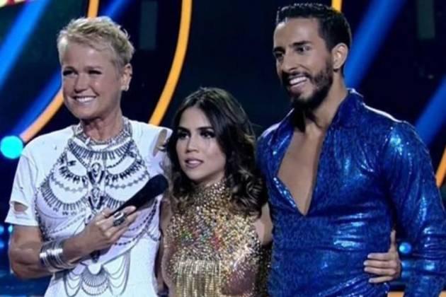 Xuxa, Pérola Faria e Fernando Perroti - Reprodução/TV Record