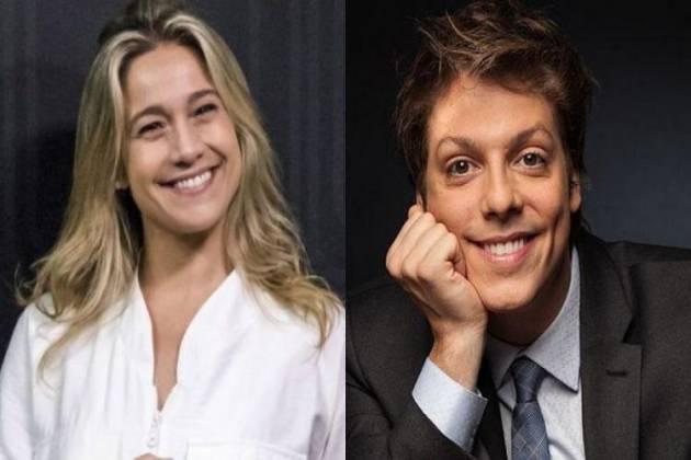 Fernanda Gentil e Fábio Porchat - Reprodução/Instagram