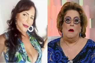Luisa Marilac e Mamma Bruschetta - Montagem/Área VIP