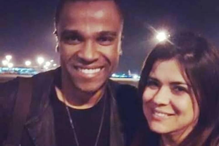 Após mal estar com Léo Dias, Alexandre Pires recebe apoio de Mara Maravilha
