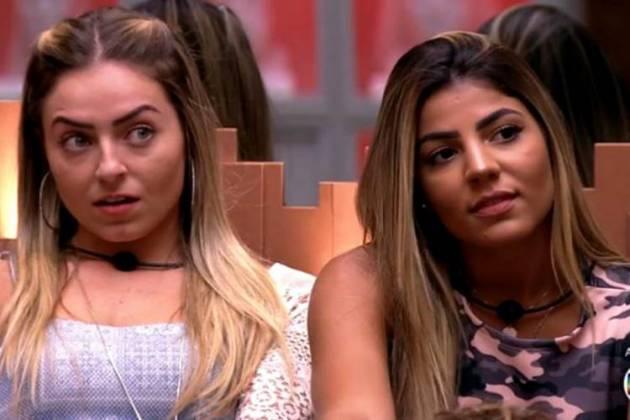 Paula e Hariany (Foto: TV Globo)