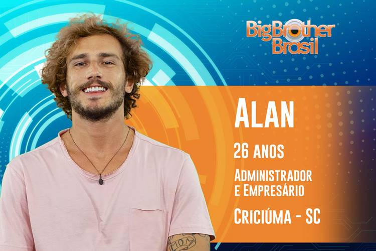 BBB19 - Alan (Reprodução/TV Globo)