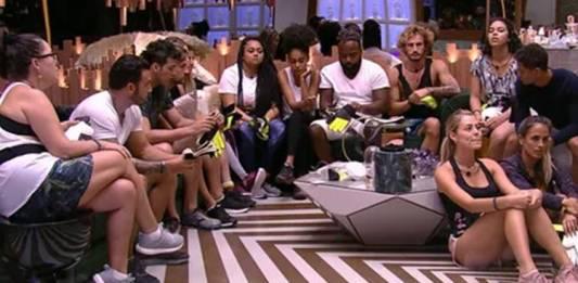 BBB19 - Brothers se preparam para a prova do Anjo (Reprodução/TV Globo)
