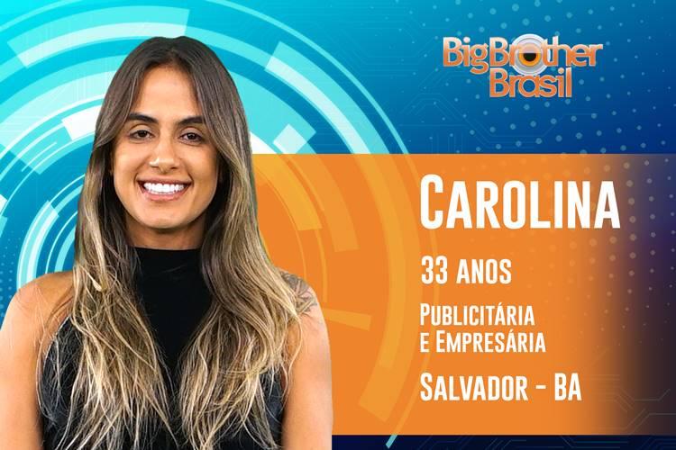 BBB19 - Carolina (Reprodução/TV Globo)