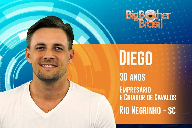 BBB19 - Diego (Reprodução/TV Globo)
