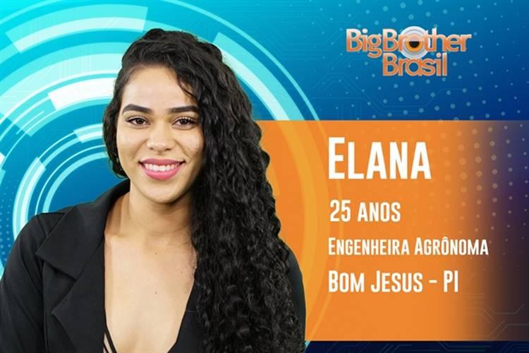 BBB19 - Elana (Reprodução/TV Globo)