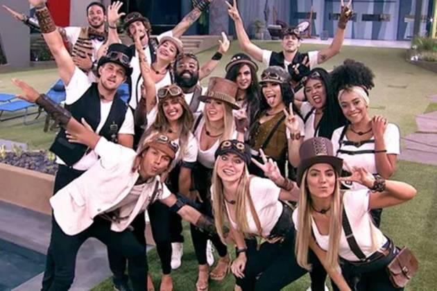 BBB19 - Festa O Tempo Não Para (Reprodução/TV Globo)