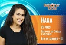 BBB19 - Hana (Reprodução/TV Globo)