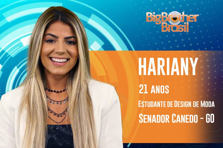 BBB19 - Hariany (Reprodução/TV Globo)