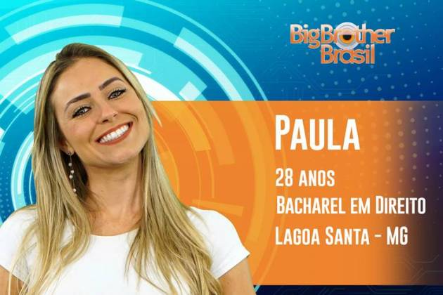 BBB19 - Paula (Reprodução/TV Globo)