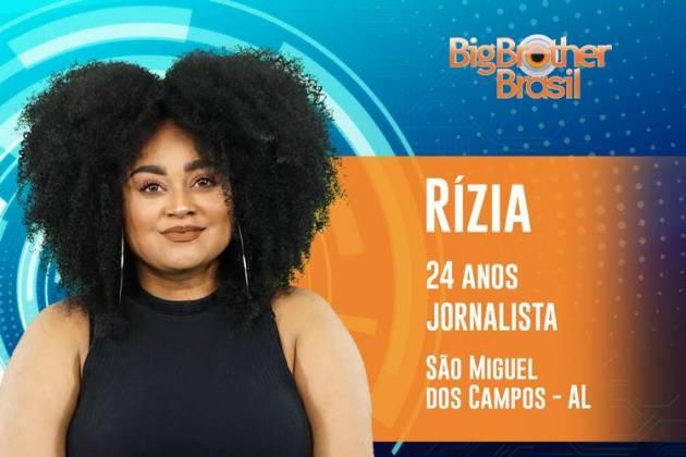 BBB19 -Rízia (Reprodução/TV Globo)