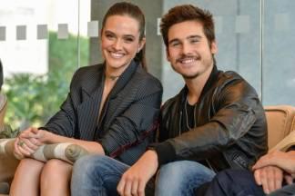 Nicolas Prattes e Juliana Paiva (Foto: Fábio Rocha/ TV Globo)