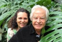 Cid Moreira e esposa/Reprodução