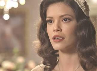 Espelho da Vida - Julia fica surpresa (Reprodução/TV Globo)