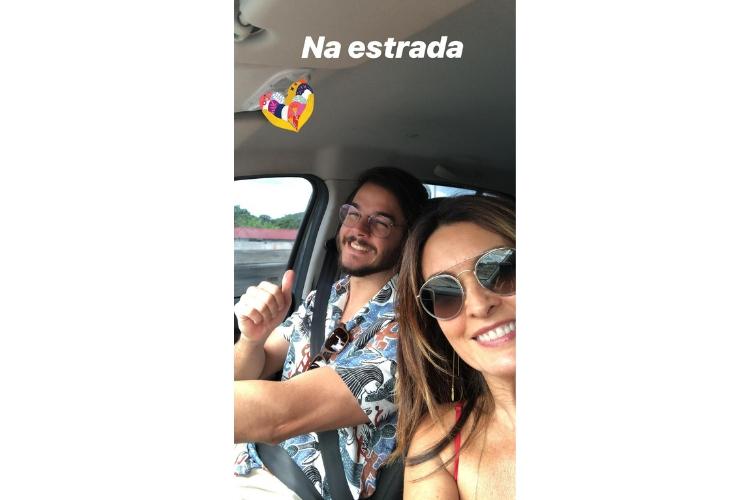 Fátima Bernardes e Túlio Gadelha/Reprodução