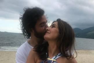 Fátima Bernardes e Túlio Gadelha/Instagram