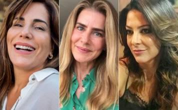 Glória Pires, Maitê Proença, Ana Paula Padrão/Instagram