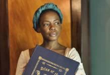Imagem de Aminata Diallo na minissérie Meu Nome É Liberdade (Globo/Divulgação)