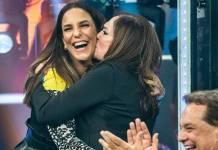 Ivete Sangalo e Susana Vieira (Globo/Fábio Rocha)