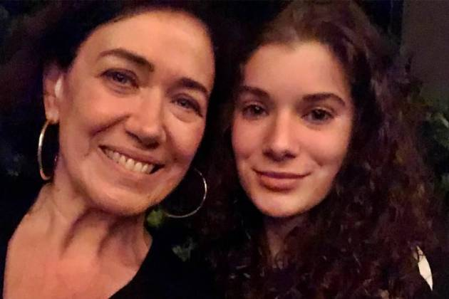 Lilia Cabral com a filha/Instagram