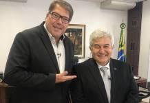 Luciano Faccioli e Marcos Pontes/RBTV