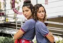 Malhação - Perola e Maria Alice (Globo/João Miguel Júnior)
