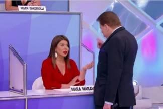 Mara Maravilha e Silvio Santos - Reprodução/SBT