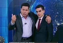 Marcão do Povo e Dudu Camargo - Reprodução/SBT