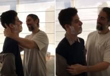 Marcos Mion e Romeu/Reprodução