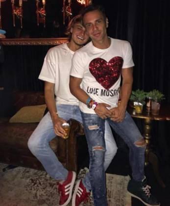Matheus Mazzafera e o namorado - Reprodução/Instagram