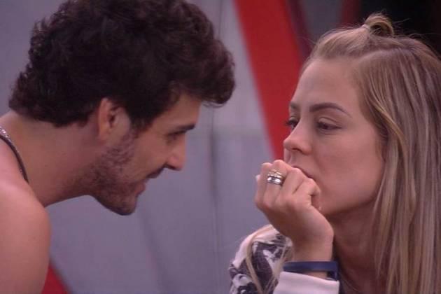 Maycon e Isabella (Foto: TV Globo)