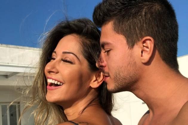 Mayra Cardi e Arthur Aguiar/Reprodução