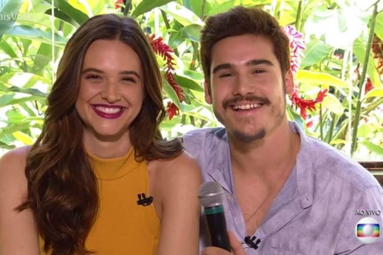 Juliana e Nicolas (Foto: Divulgação Globo Play)