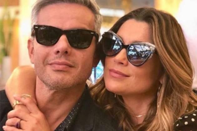 Otaviano Costa e Flávia Alessandra - Reprodução/Instagram