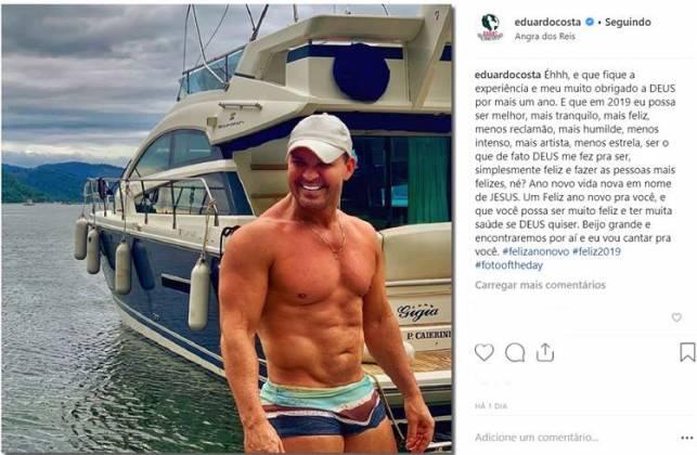 Post - Eduardo Costa/Instagram