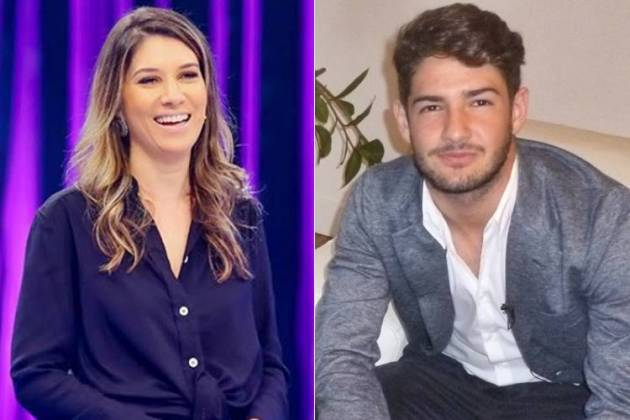 Rebeca Abravanel e Alexandre Pato (Reprodução/SBT/TV Globo/ Paula Alvim)