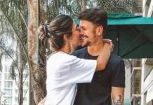 Gabi Brandt e Saulo Poncio - Reprodução/Instagram
