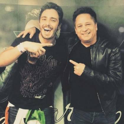 Thiago Rodrigues e Leonardo - Reprodução/Instagram