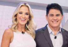 Ticiane Pinheiro e César Filho - Divulgação/Record TV