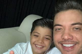 Wesley Safadão e filho/Reprodução